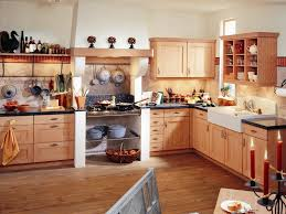 Design A Kitchen by Furniture Kitchen With Marble Counters And Light Wood Island