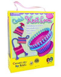 amazon com creativity for kids quick knit loom u2013 teaches