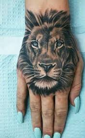 the 25 best lion hand tattoo ideas on pinterest tiger hand