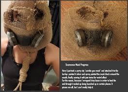 Scarecrow Mask Scarecrow Mask Wip Progress By Mariekovacs On Deviantart