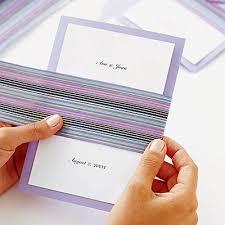 how to make a wedding invitation how to make wedding invitations rectangle potrait purple white