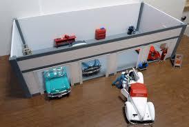 Four Car Garage by Custom Built Sturdy Quality Four Car Garage Station Kit 1 24 Scale