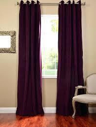 Plum Velvet Curtains Purple Velvet Curtains Ikea Soozone