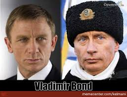 Vladimir Putin Meme - james bond and vladimir putin by kelmani meme center
