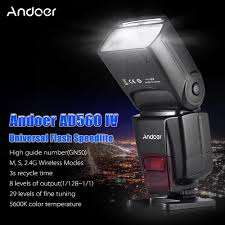 aliexpress buy andoer ad560 iv 2 4g wireless universal