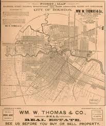 Houston City Limits Map Old Houston Maps Houston Past