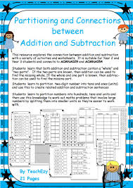subjects mathematics addition partitioning and the