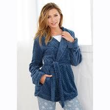 robe de chambre coton homme peignoir femme 3suisses belgique