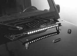 20 In Light Bar How To Install Putco 20 In Light Bar Bracket On Your Wrangler