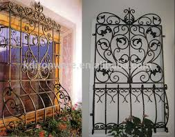 simple ornamental wrought iron window grill design view iron