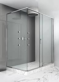 sliding shower screen for alcoves corner slide makro
