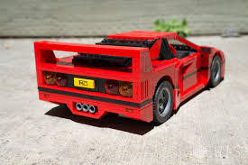 ferrari lego the lego ferrari f40 is a masterpiece review lewis leong