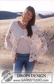drops design poncho desert bloom drops 94 10 free crochet patterns by drops design