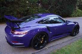 purple porsche 911 certified pre owned 2016 porsche 911 gt3 rs