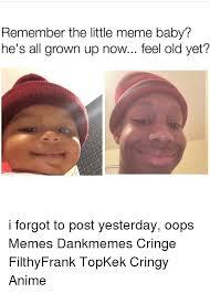 Grown Baby Meme - 25 best memes about meme baby meme baby memes