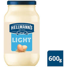 hellmans light mayo nutrition morrisons hellmann s light mayonnaise 600g product information