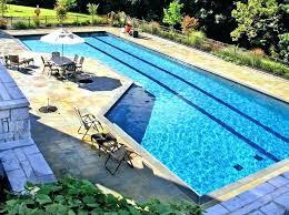 cost of a lap pool diy lap pool fallbreak co