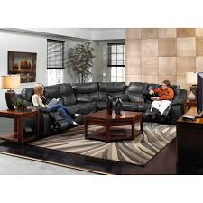 Catnapper Power Reclining Sofa Catnapper Leather Reclining Sectional Steel Walmart