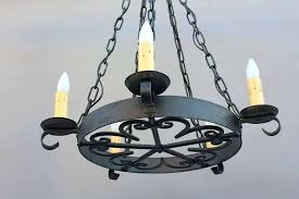Vintage Wrought Iron Chandeliers Antique Iron Chandeliers Antique Forged Iron Chandeliers Pinkfolio