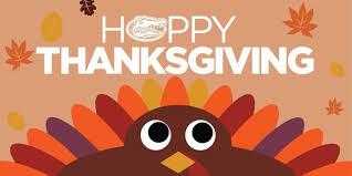 happy thanksgiving gator nation florida gators football