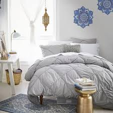 How To Make A Bed With A Duvet Diamond Dream Duvet Cover Sham Pbteen
