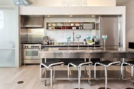 stainless kitchen island 35 large kitchen islands with seating pictures designing idea