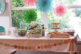 wedding shower table decorations stunning beach med wedding shower tbdress blog ideas and beach med