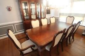 thomasville mahogany dining room set ebay