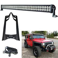 Jeep Wrangler Led Light Bar by Aliexpress Com Buy Racbox 52 U0027 U0027 300w 24000lm Offroad Led Light