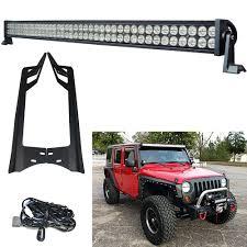 jeep jk led light bar aliexpress com buy racbox 52 u0027 u0027 300w 24000lm offroad led light