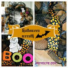 Halloween Wreath Supplies by Halloween Wreath Arenolife