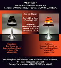 levitron levitating lamps u2013 give the gift of levitation