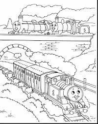 incredible thomas train coloring pages with thomas the train