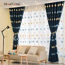 Embroidered Linen Curtains Aliexpress Com Buy Embroidered Linen Curtains For Living Room