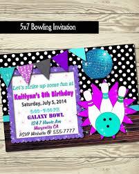 best 25 bowling birthday invitations ideas on pinterest bowling