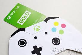 xbox gift card how to diy xbox controller gift card holder duty