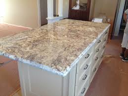 kitchen white spring granite with dark wood kitchen island and