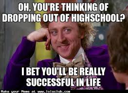 Wonka Meme - lol s club laugh out loud s club oh you re thinking of dropping