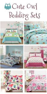 6 cute owl bedding sets for kids sweet party place