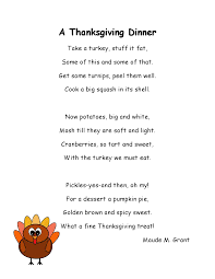poems about thanksgiving for poem of pilgrims and indians