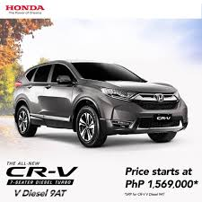 honda philippines your 7 seater diesel turbo 9 at suv honda cars philippines