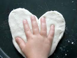 salt dough handprint ornaments how tos diy