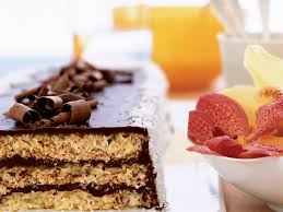 triple layer chocolate macaroon cake recipe françois payard