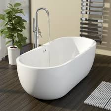 freestanding baths plumbworld affine montriond freestanding bath 1800mm with built in waste
