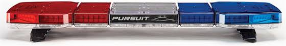 code 3 pursuit light bar pursuit 47 dual level led lightbar by code 3