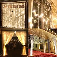 9 8ft 9 8ft extendable led curtain lights torchstar