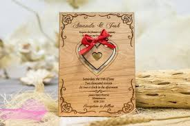 wood wedding invitations laser cut wood wedding invitations lake side corrals