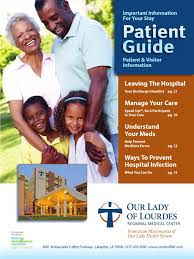 our lady of lourdes regional medical center digital patient guide