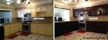 Refinish Kitchen Cabinets Without Stripping Restoring Kitchen Cabinets Ljve Me