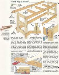 Woodworking Bench Top Plans by 2450 Heavy Duty Workbench Plans Workshop Solutions